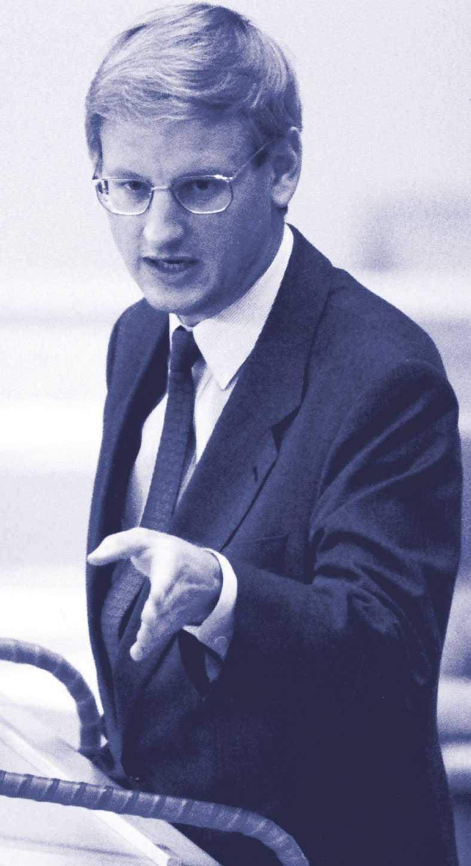 Carl Bildt, statsminister 1991–1994.