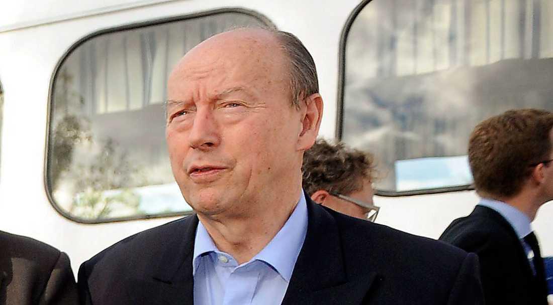 Frank Belfrage , 74 Diplomat och kabinettssekreterare under Carl Bildts (M) tid som utrikesminister 2006-2014.