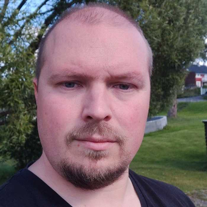 Huvudskyddsombud Daniel Johansson.