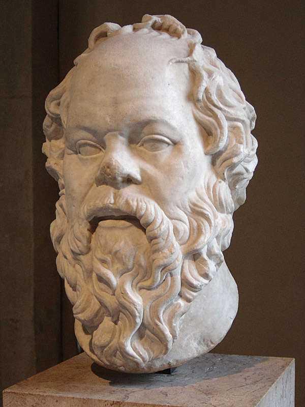 Sokrates.