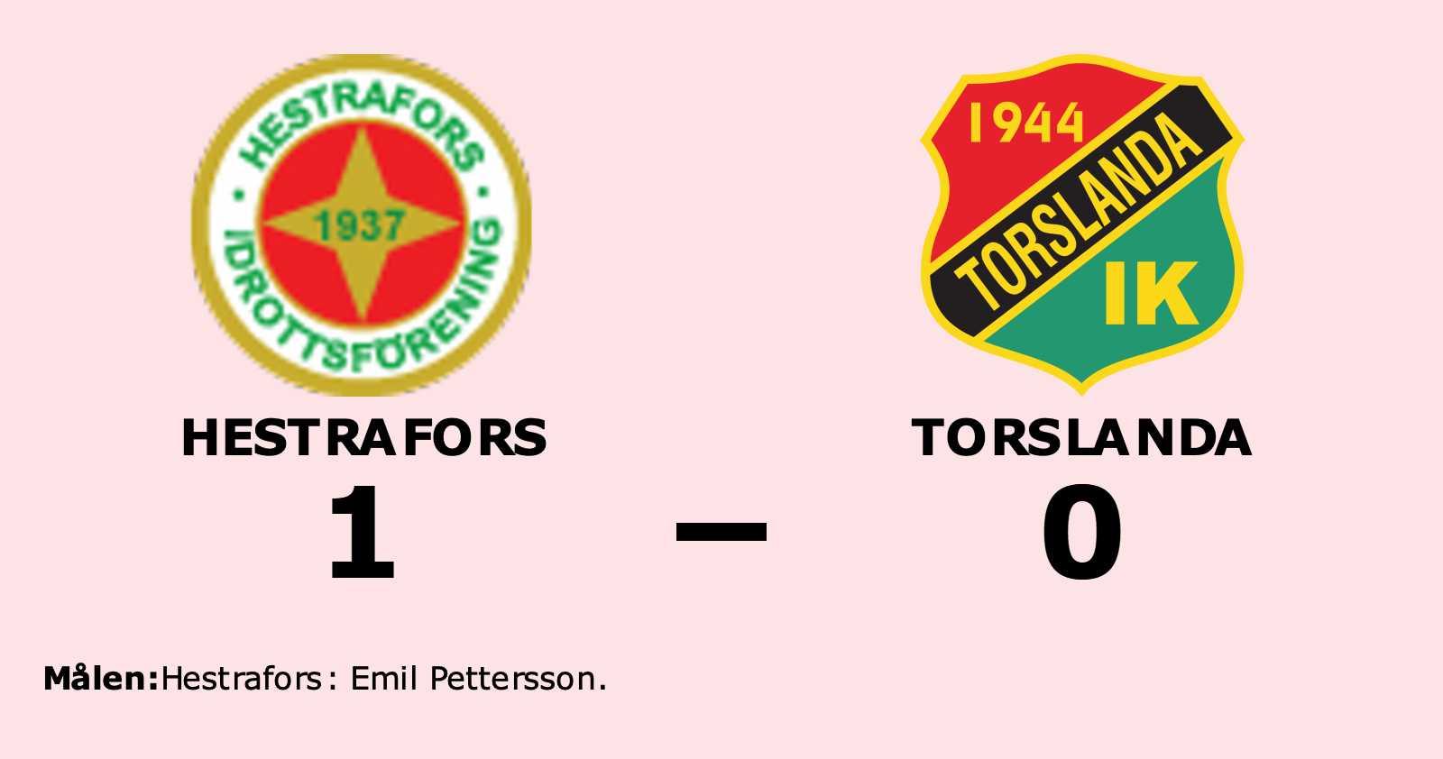 Emil Pettersson matchhjälte för Hestrafors