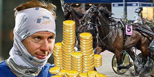 Kim Eriksson tillsammans med Martin de Bos är ett av miljondragen.
