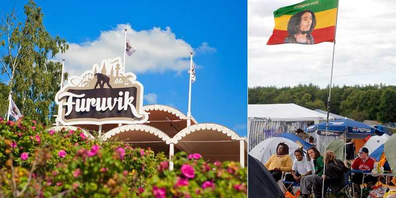Reggaefestivalen flyttar från Uppsala till Furuvik utanför Gävle. Bilden är från 2005 års festival i Uppsala.
