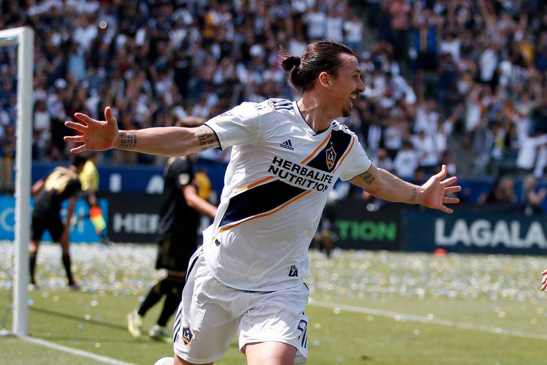 Zlatan kan vinna tre priser på MLS awards
