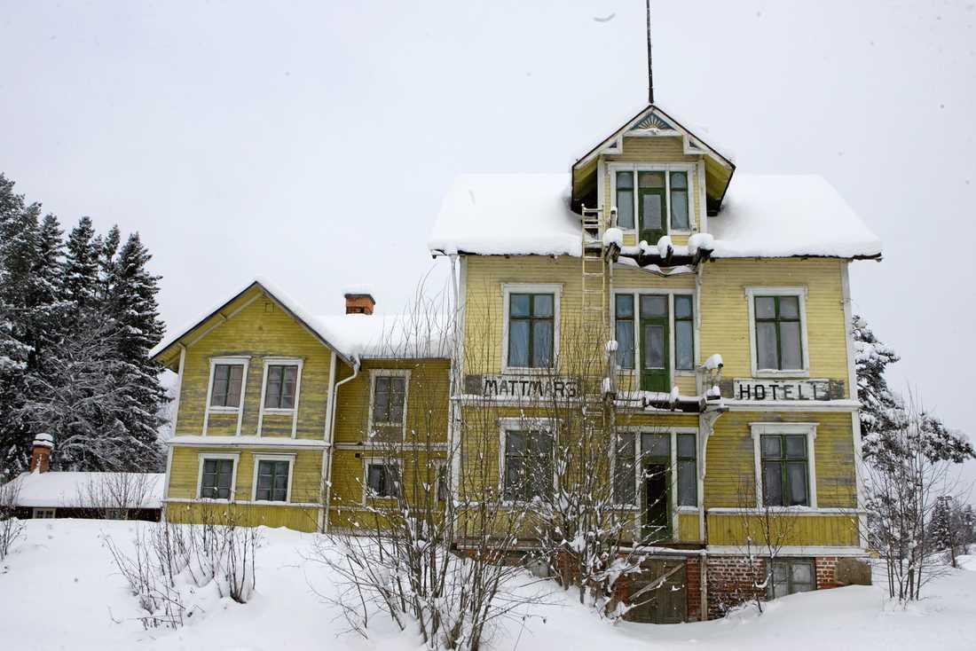 """Mattmars hotell, inte längre med """"The Shining""""-vibbar."""