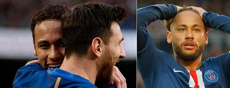 Messi trodde verkligen att Neymar skulle spela i Real Madrid.
