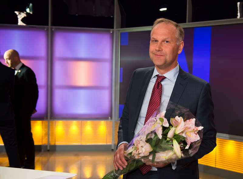 Vänsterpartiets Jonas Sjöstedt efter helgens partiledardebatt.