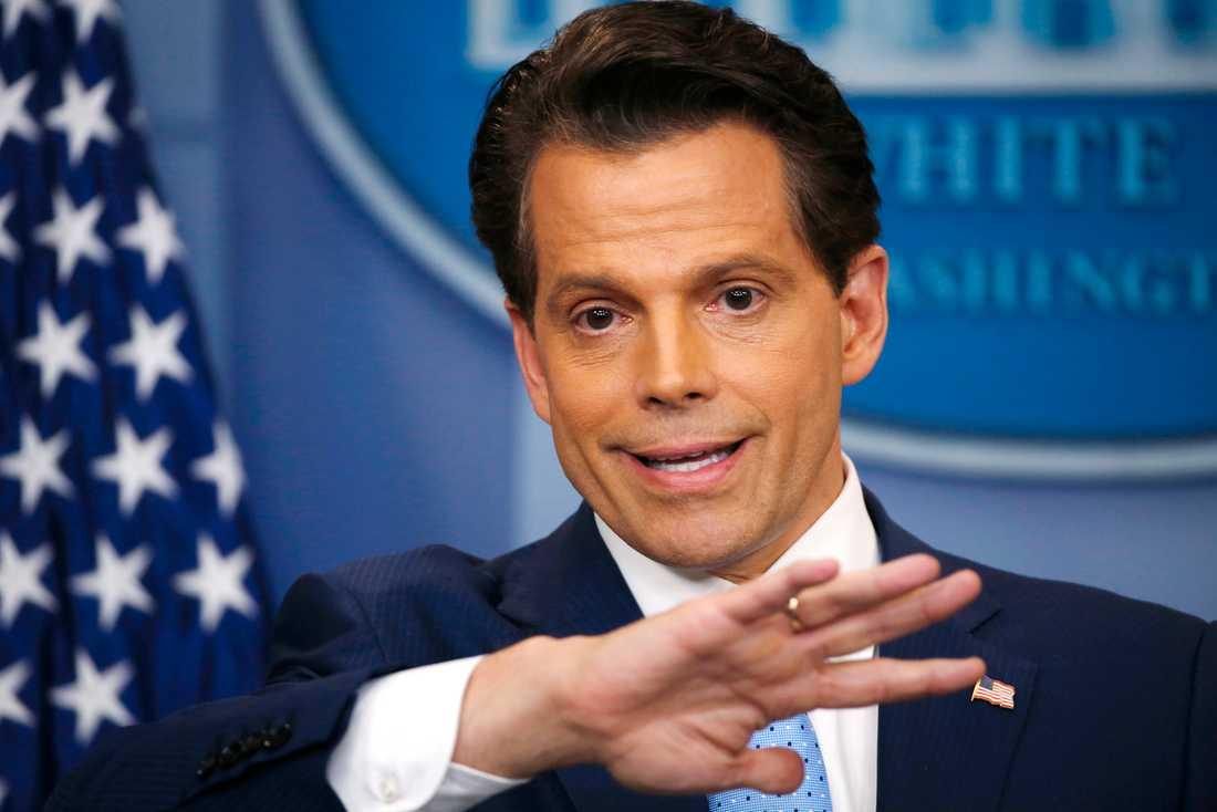Trumps tidigare kommunikationschef Anthony Scaramucci.