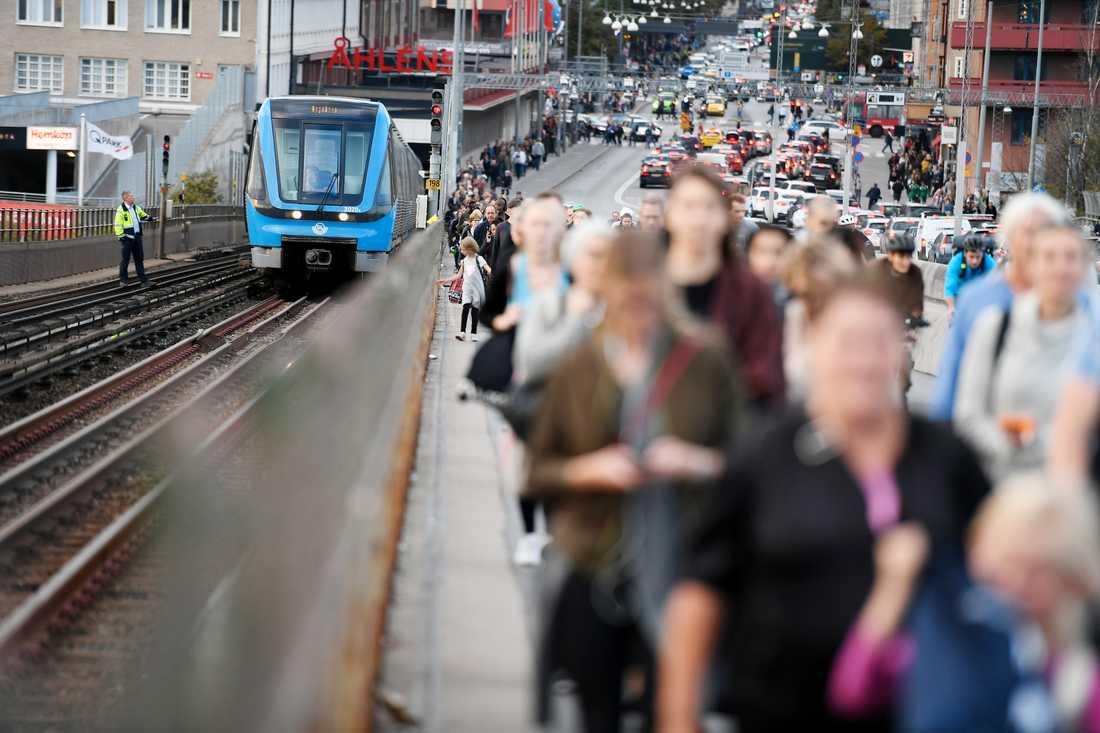 Skanstull, på Södermalm i Stockholm.