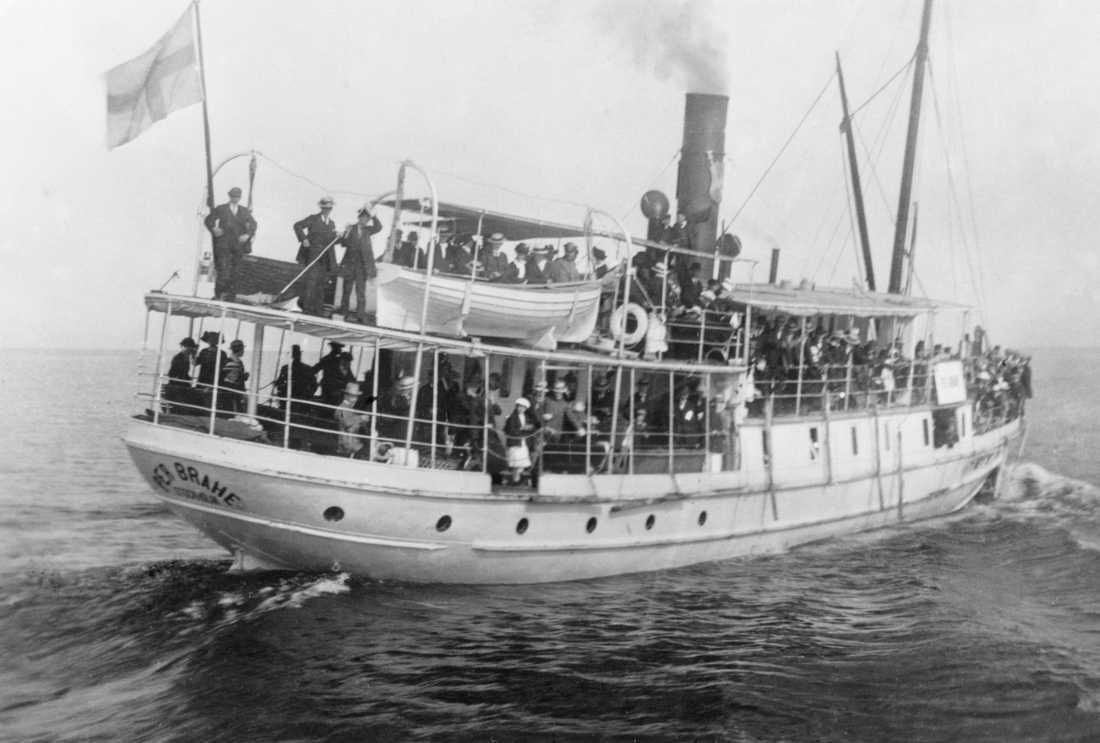 "Trotjänaren ""Pelle"", Per Brahe, gick under 1918, alla ombord dog."