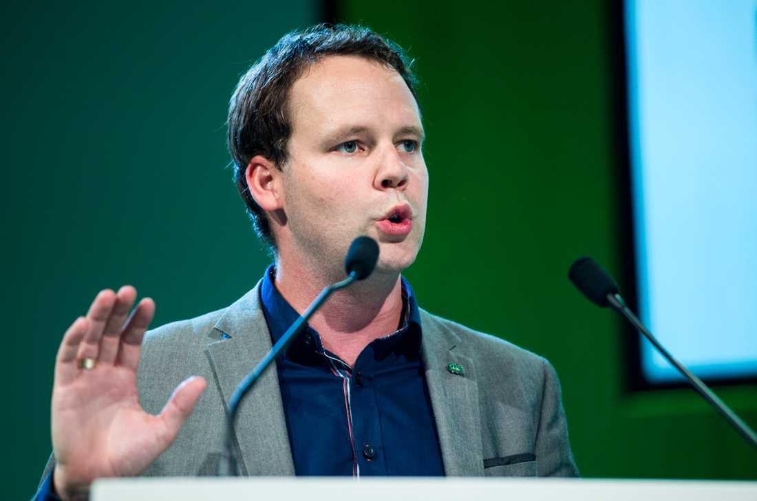 Rickard Nordin (C), klimatpolitisk talesperson.