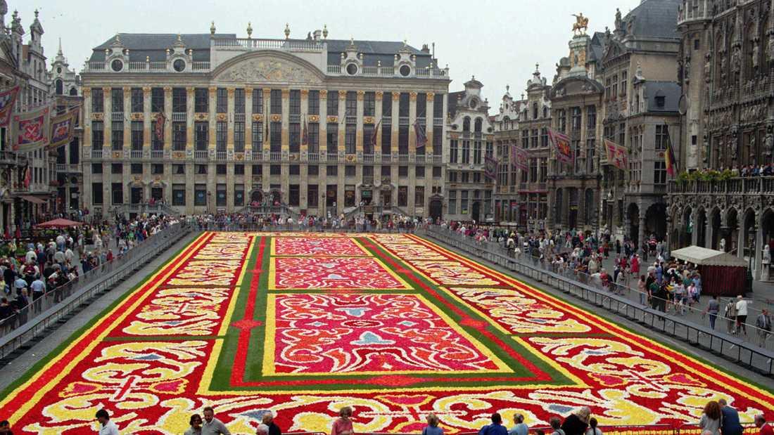 Grand Place i Bryssel.