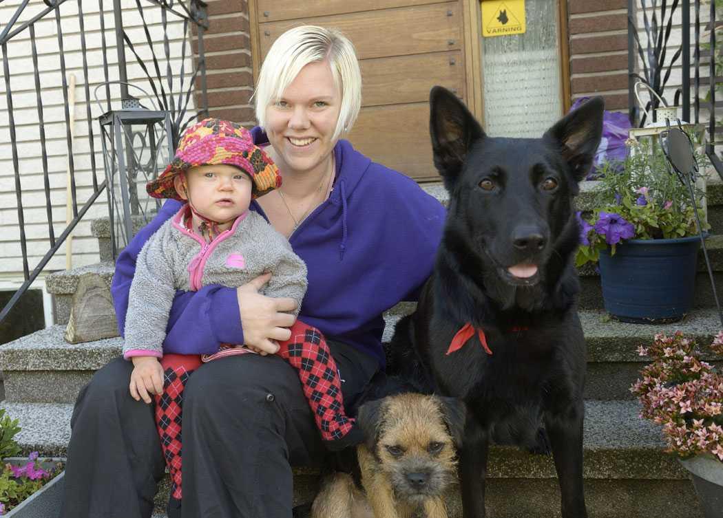 Sofia Eriksson, 29, har två katter och två hundar.