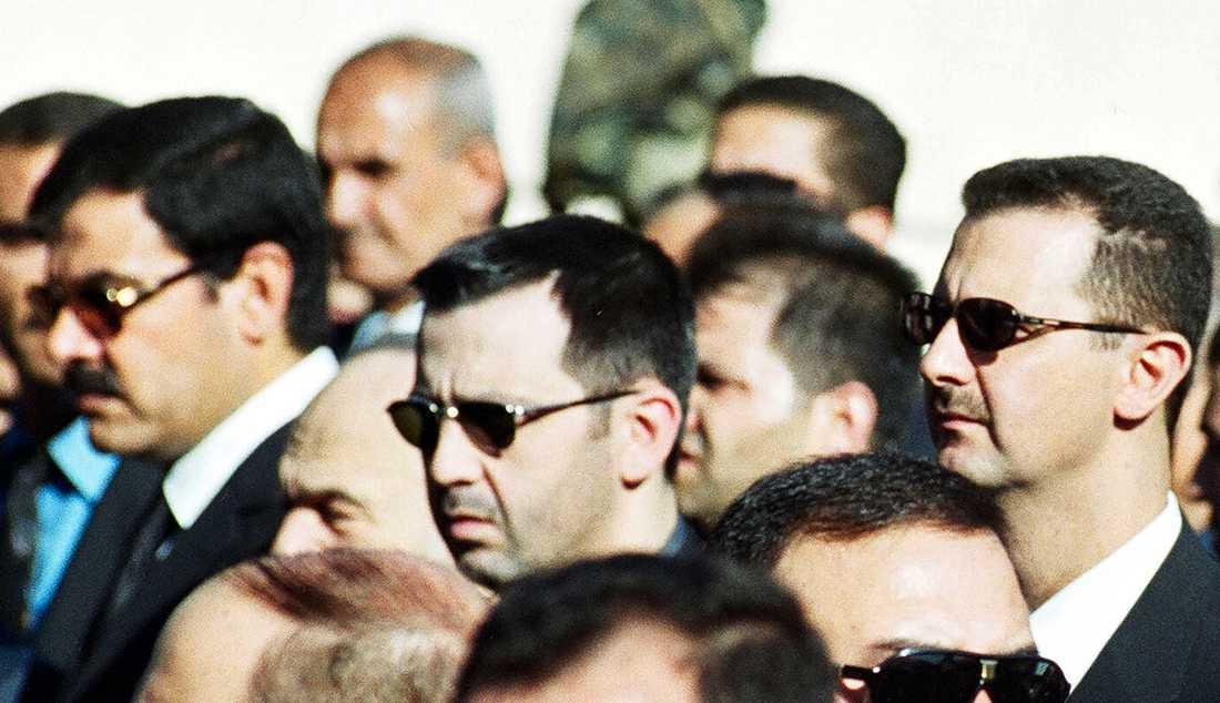 Bashars bror Maher al-Assad.