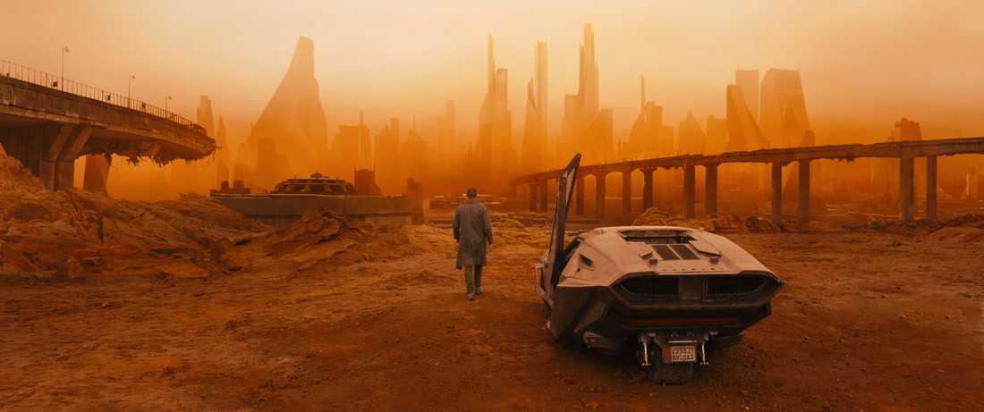 """Scen ur filmen """"Blade runner 2049""""."""