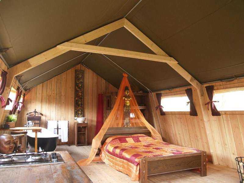 Safari lodge.