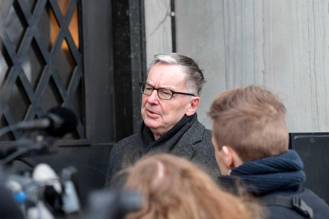 Svenska Akademiens ständige sekreterare Anders Olsson.