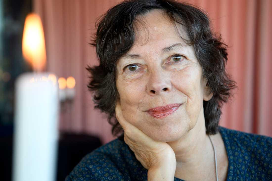 """Även Nina Burton är nominerad till Augustpriset för fjärde gången. """"Livets tunna väggar"""" är en närstudie av naturen runt hennes sommarstuga. Arkivbild."""