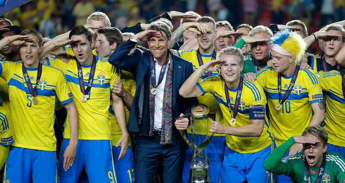 Sverige är regerande mästare – vann mästerskapet 2015.