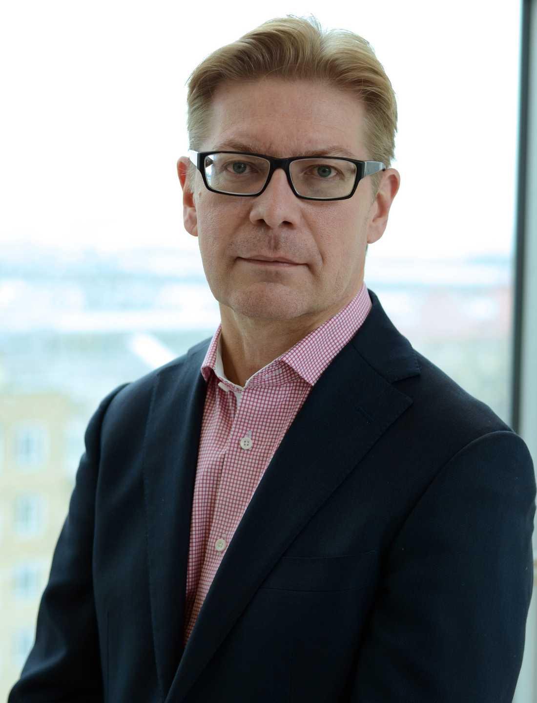 Peter Salmi, utredare inom psykiatri på Socialstyrelsen.