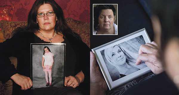 Carina Höglund Stjärnsund, till vänster, är mamma till Engla som mördades 2008. Tillsammans med mördade Lotta Rudholms syster Camilla Rudholm vill hon lyfta anhörigperspektivet i svensk lagstiftning.