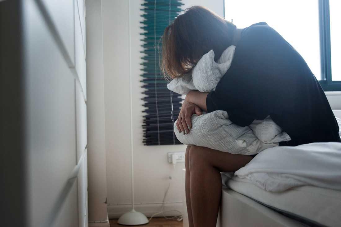 Fler kvinnor än män lider av  ångestsjukdomar och depressioner.