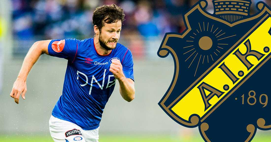 Robert Lundström klar för AIK