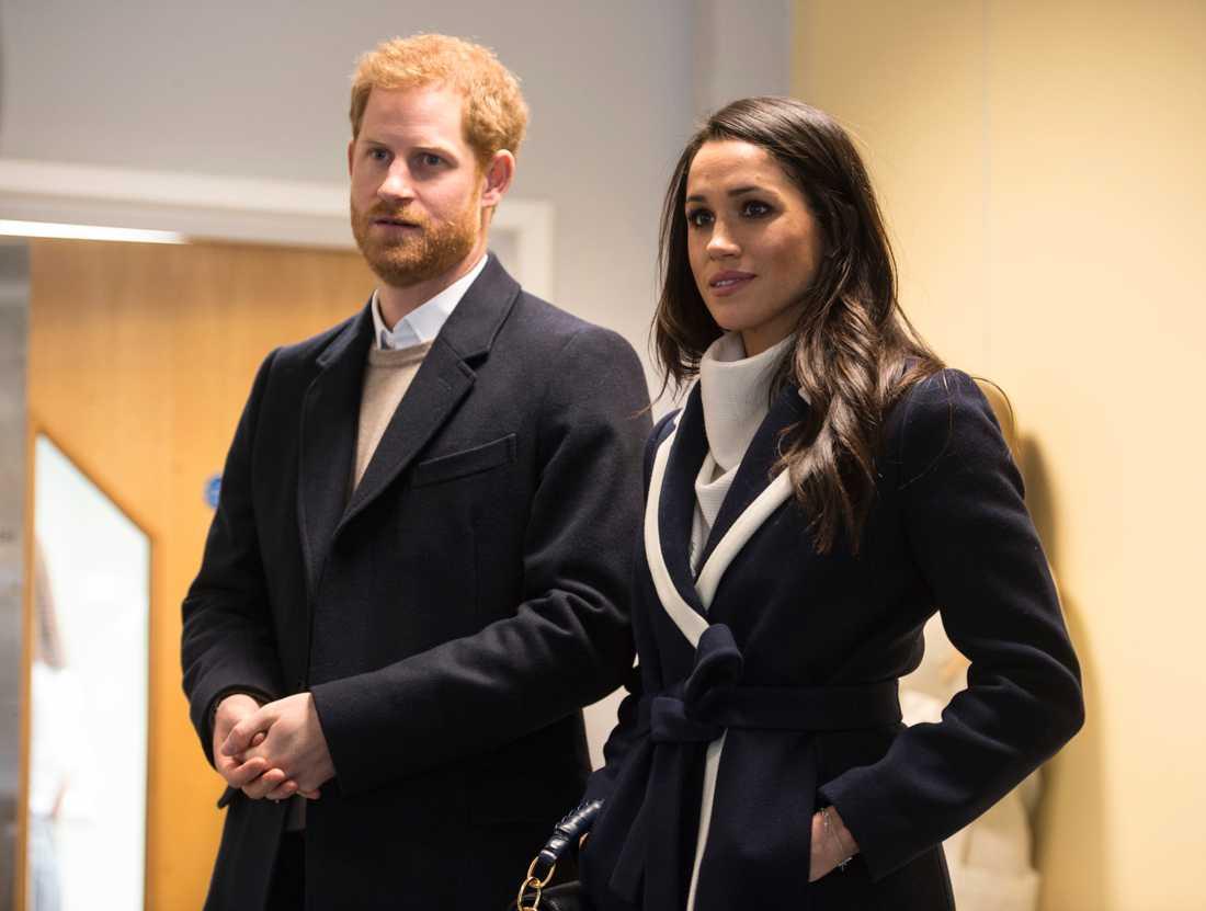 Prins Harry och Meghan Markle.
