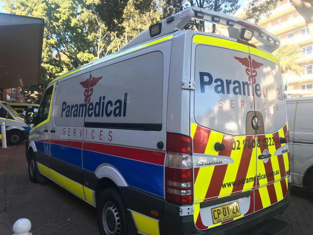 En kvinna fördes svårt skadad till sjukhus efter ett fall från en åkattraktion i Cairns. Arkivbild.