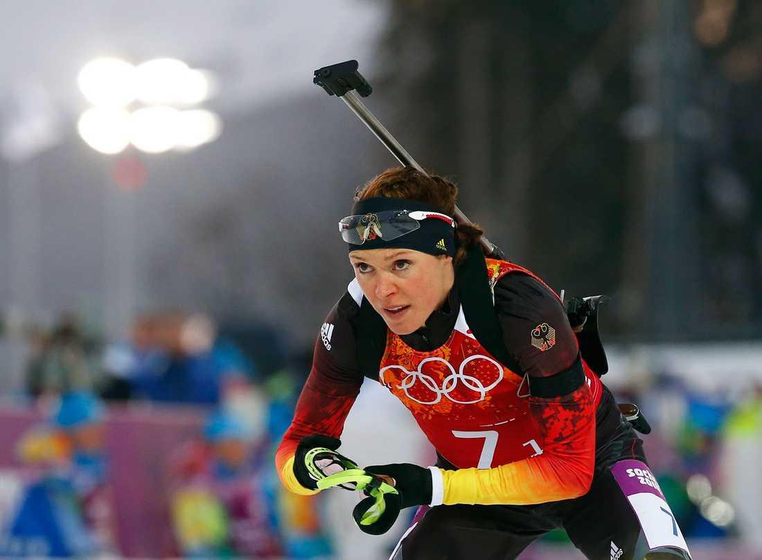 Sachenbacher-Stehle tävlar i Sotji-OS i skidskytte.