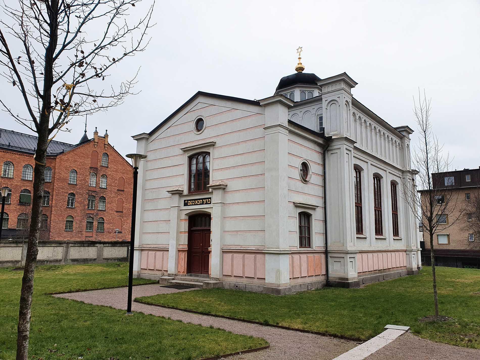 Norrköpings synagoga.