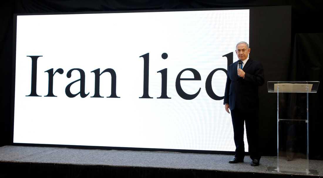 Israels premiärminister Benjamin Netanyahu säger att han har bevis för att Iran har ett hemligt kärnvapenprogram.