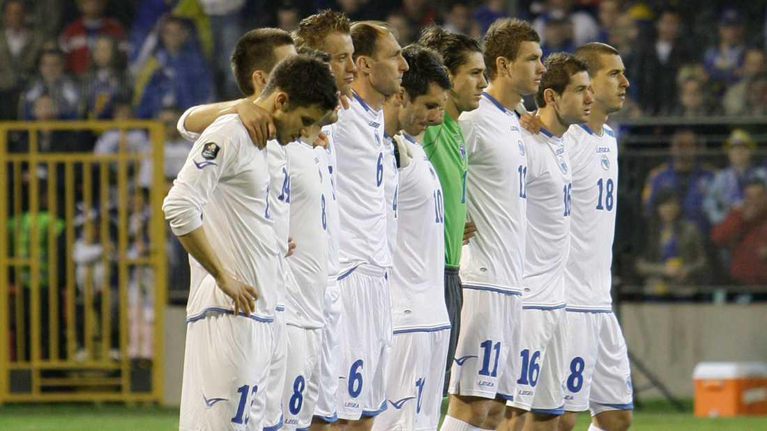 Bosniens landslag.