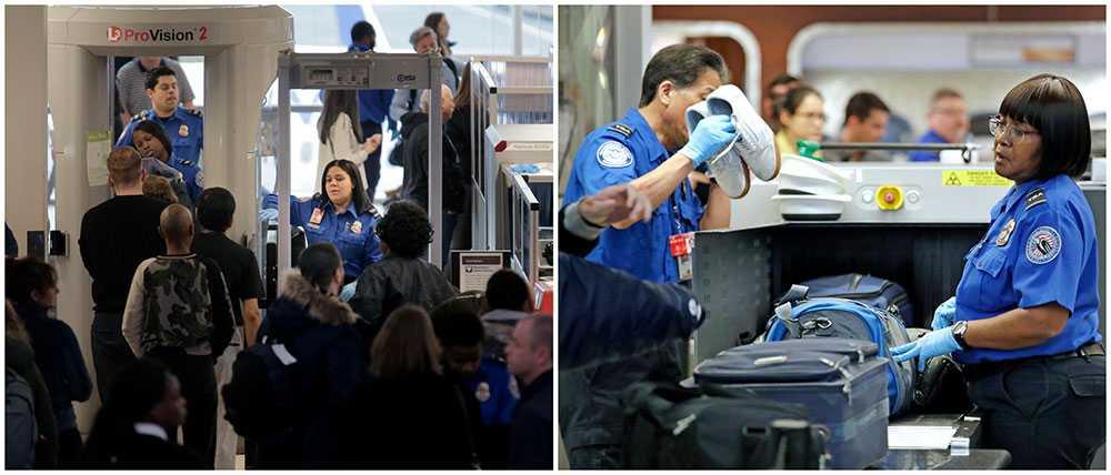 Miami International Airport kommer att stänga ner en av sina terminaler i helgen när säkerhetspersonal stannar hemma.