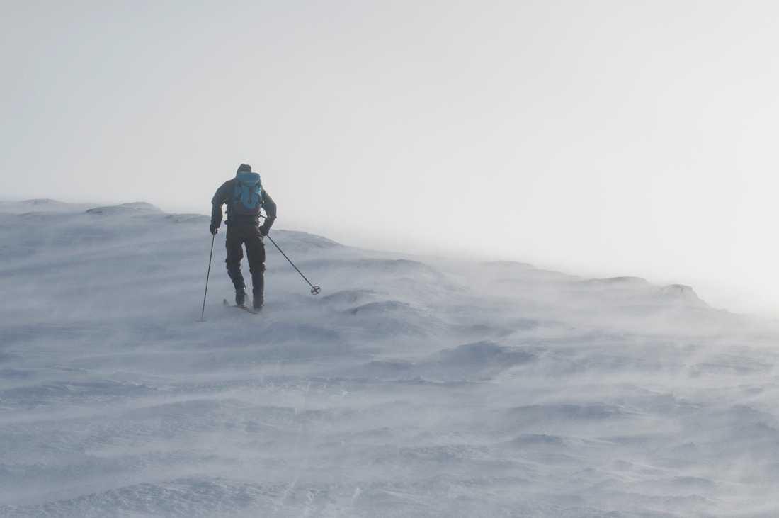 Det blir blåsigt i Lapplandsfjällen. Arkivbild.