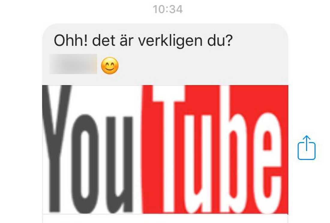 Så här ser viruset ut i svenska versionen.