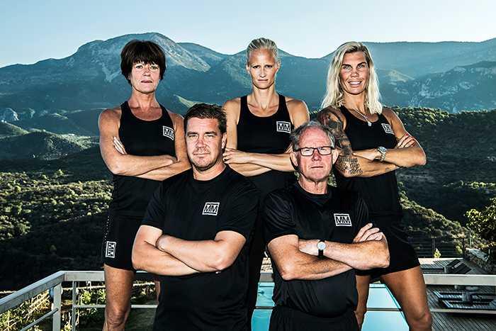 Mästarnas mästare: Marita Skogum, fd orienterare Sverige, Carolina Klüft, fd friidrottare, Mikaela Laurén, boxare, Tommy Salo, fd ishockeyspelare, och Kjell Isaksson