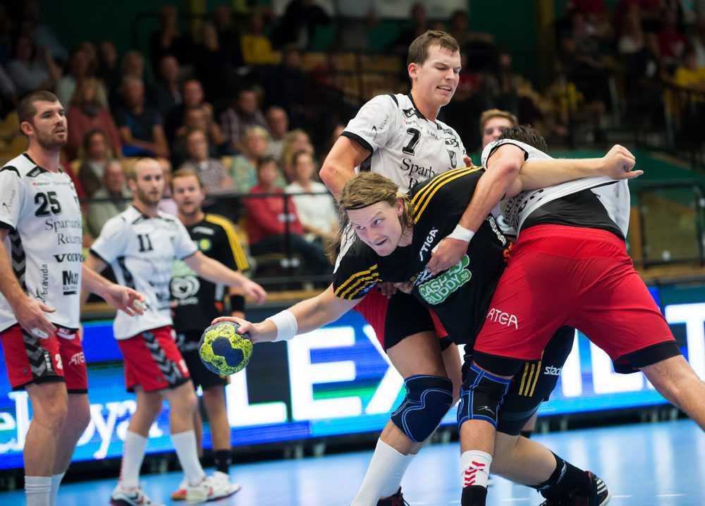 Sävehof hade svårt att ta sig igenom Guifs försvar.