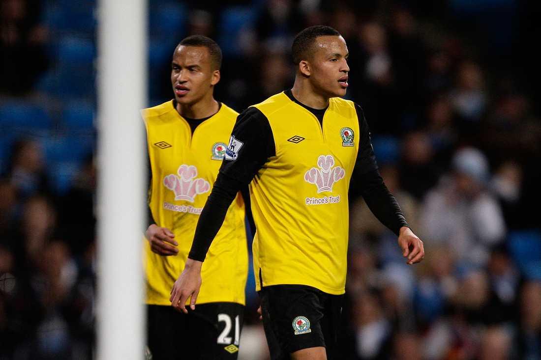 Bröderna Marcus och Martin Olsson spelade ihop i Blackburn tidigare.