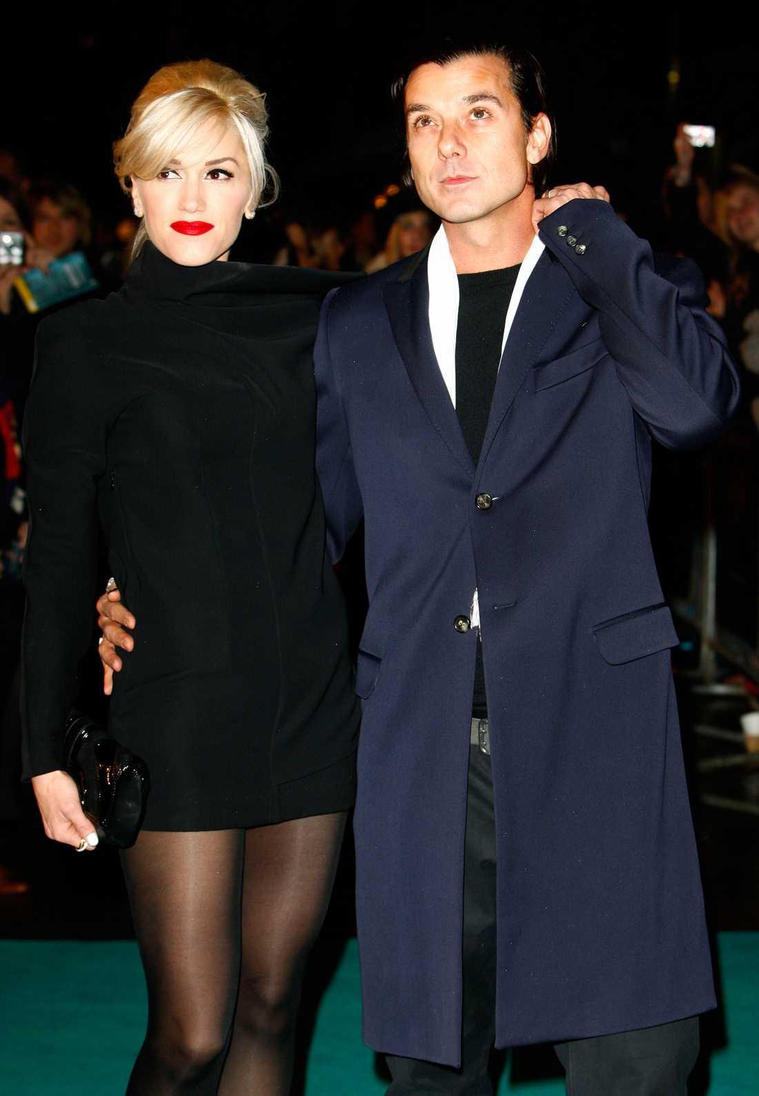 Gwens ex Gavin Rossdale gillade att se henne i tung makeup.