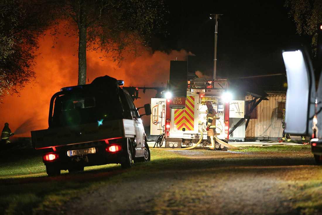 Inga personer skadades i branden.