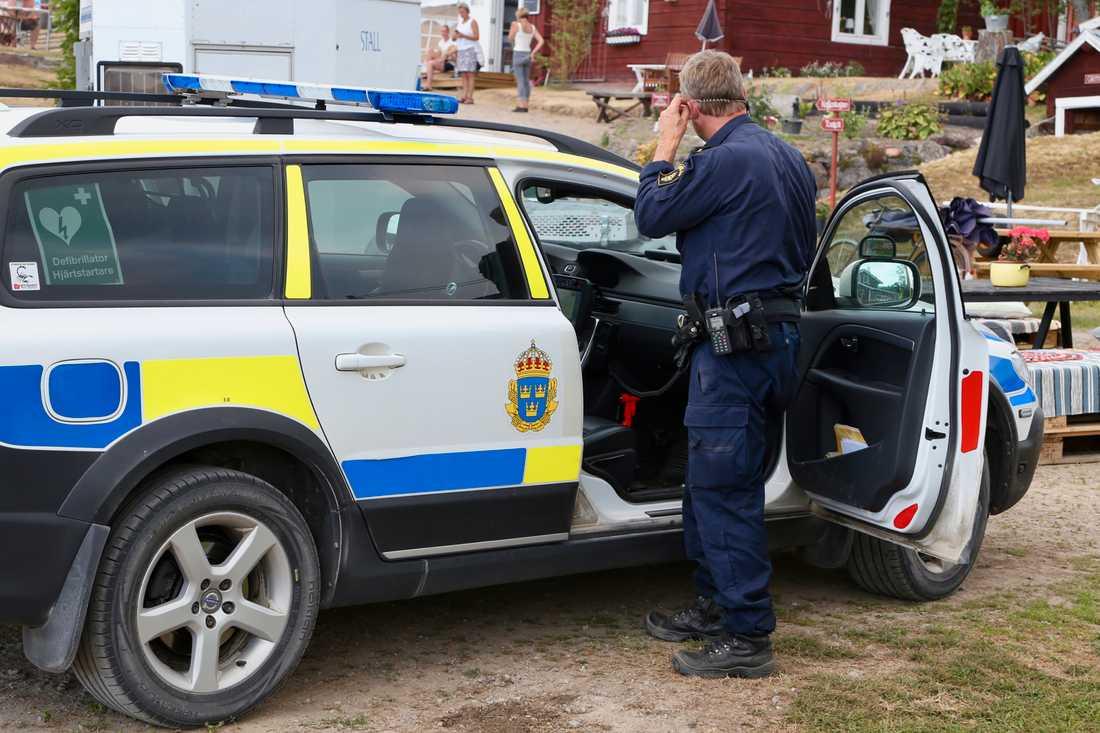 Polisen Mattias Axdal.