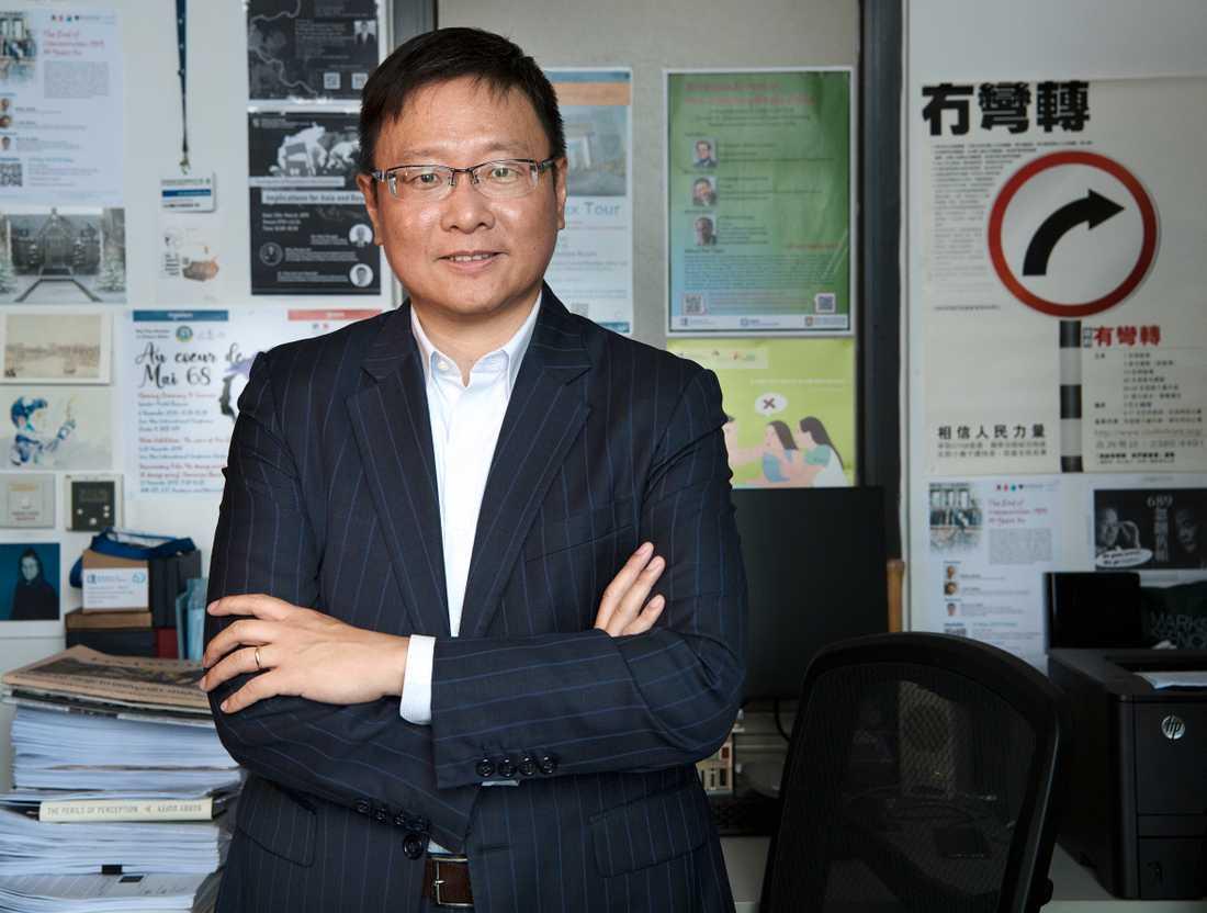 Statsvetaren i Hongkong Kenneth Chan.