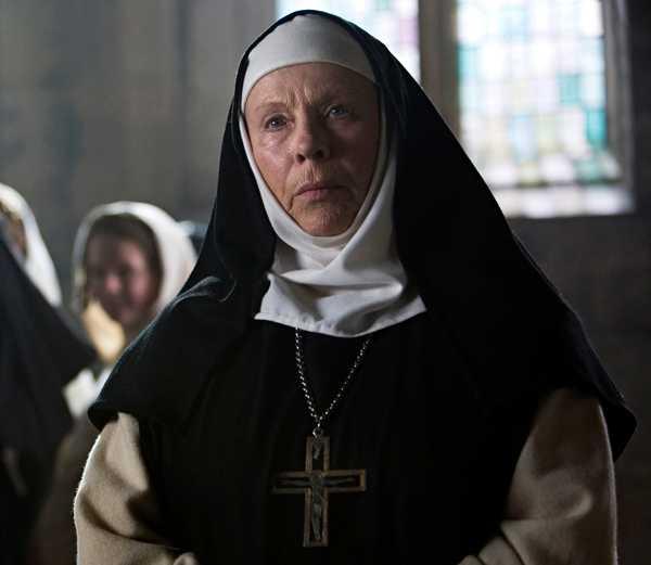 Bibi Andersson fick 2008 en Guldbagge för rollen som den ondskefulla abbedissan Rikissa i filmen om tempelriddaren Arn.