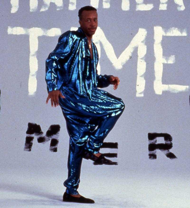 MC Hammer – eller Stanley Kirk Burrell, som han egentligen heter – när det begav sig.