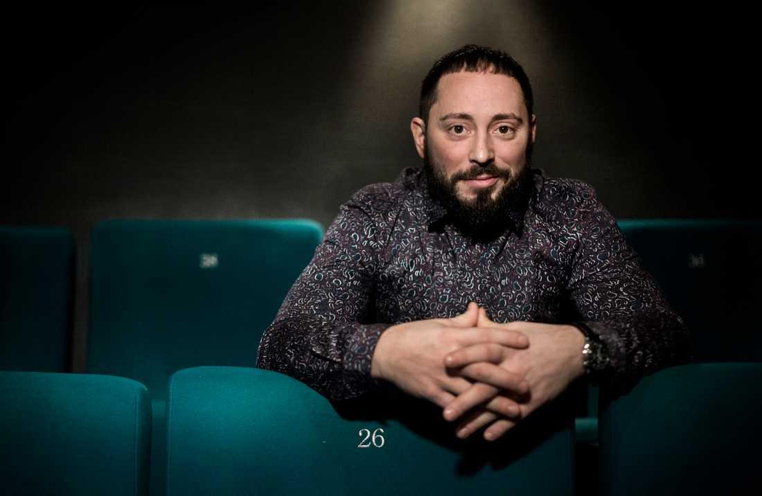 Matias Varela är aktuell för en ny roll i Ridley Scotts nya tv-serie. Arkivbild.