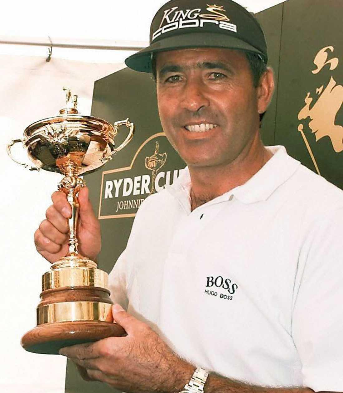 Spanjoren var kapten för det europeiska lag som vann Ryder Cup 1997.