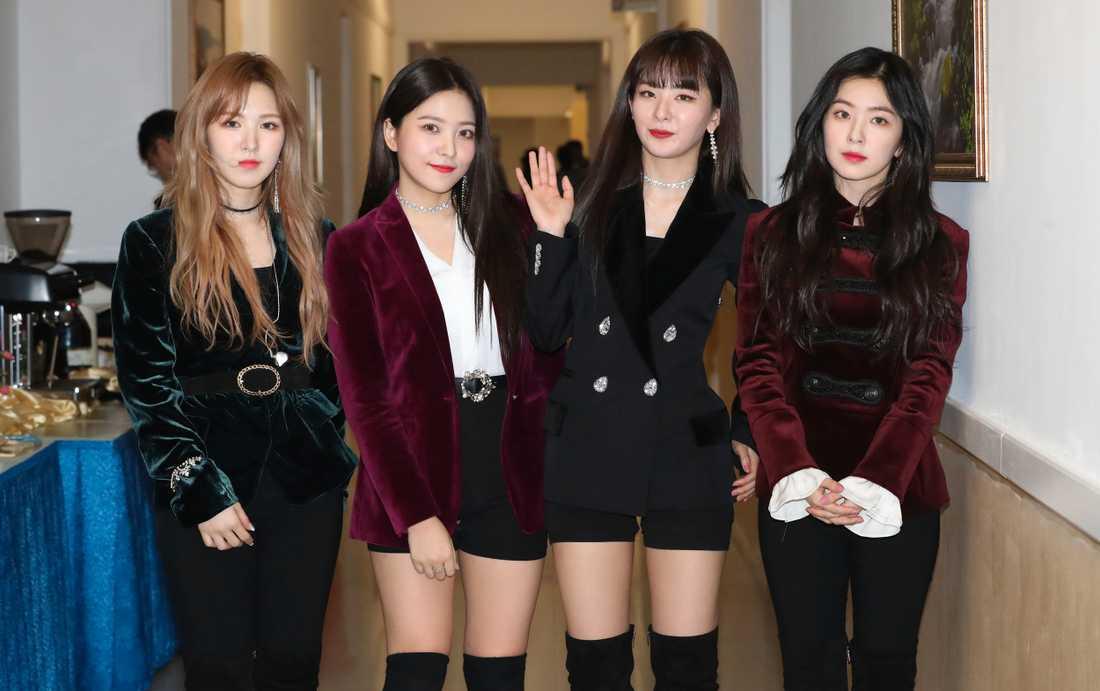 Sydkoreanska popbandet Red velvet.