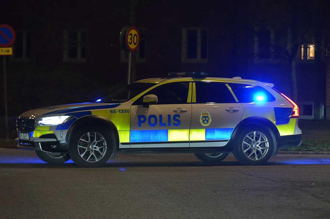 Polisen bekräftar att ärendet kom in som ett larm om en skottlossning.