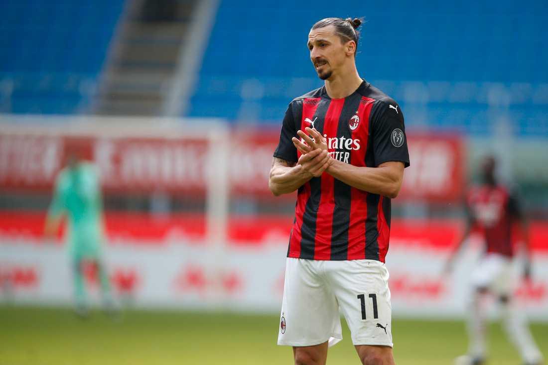 Zlatan fick fött kort mot Parma. Nu står det klart att han stängs av två matcher i Serie A.